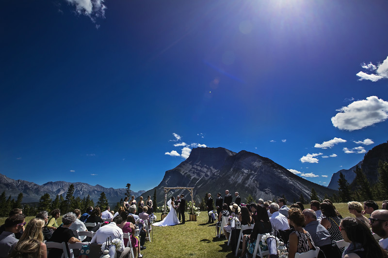 Banff Wedding tunnel mountain Mt Norquay 8