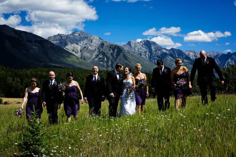 Banff Wedding tunnel mountain Mt Norquay 10