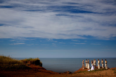 PEI beach wedding tent 1
