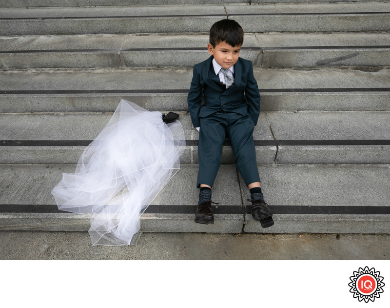 Kid at SF City Hall Wedding
