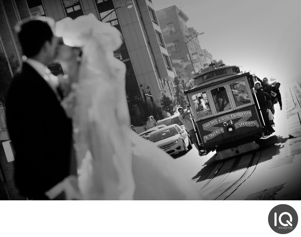 Couple with Cable Car