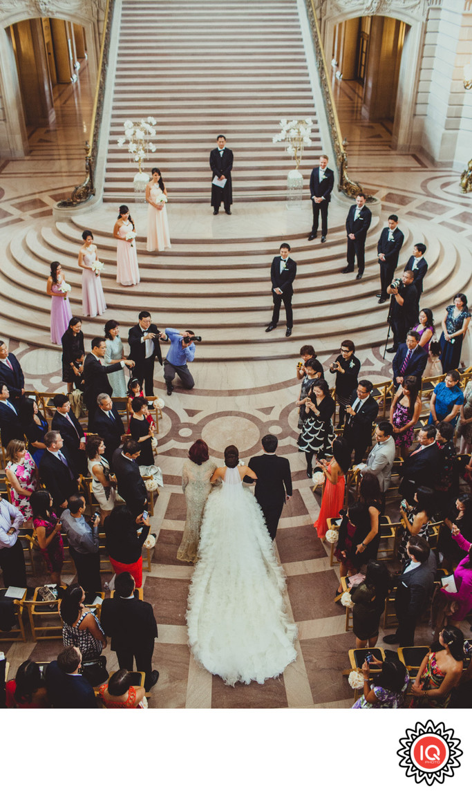 Weekend Wedding at SF City Hall