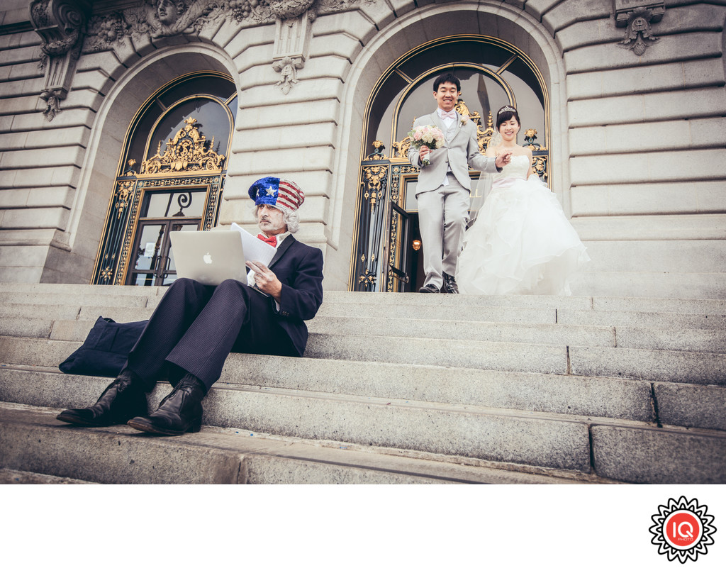 SF City Hall Funny Photo