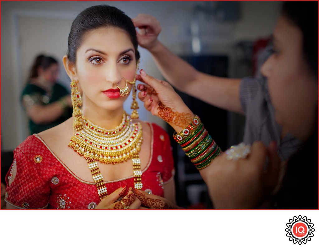 Indian Bridal Preparations
