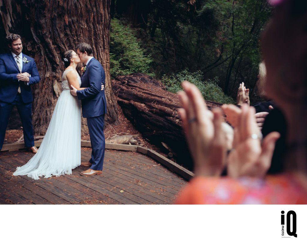 You May Kiss the Bride at Muir Woods