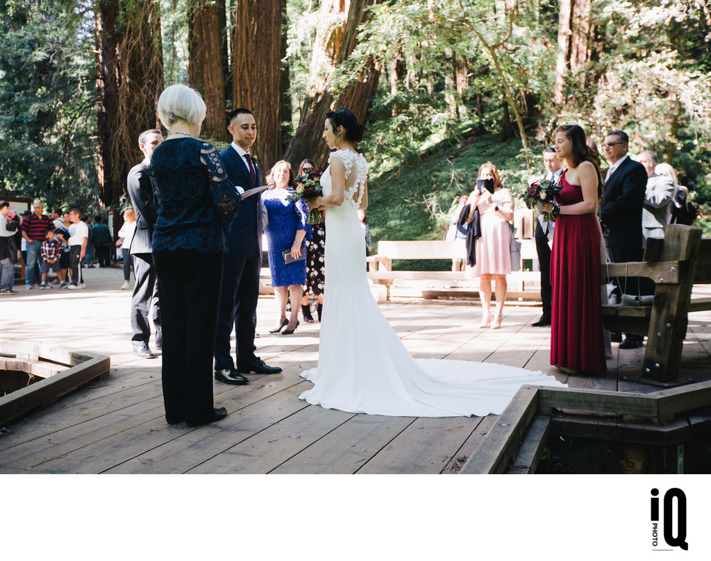 Wedding Ceremony at Muir Woods