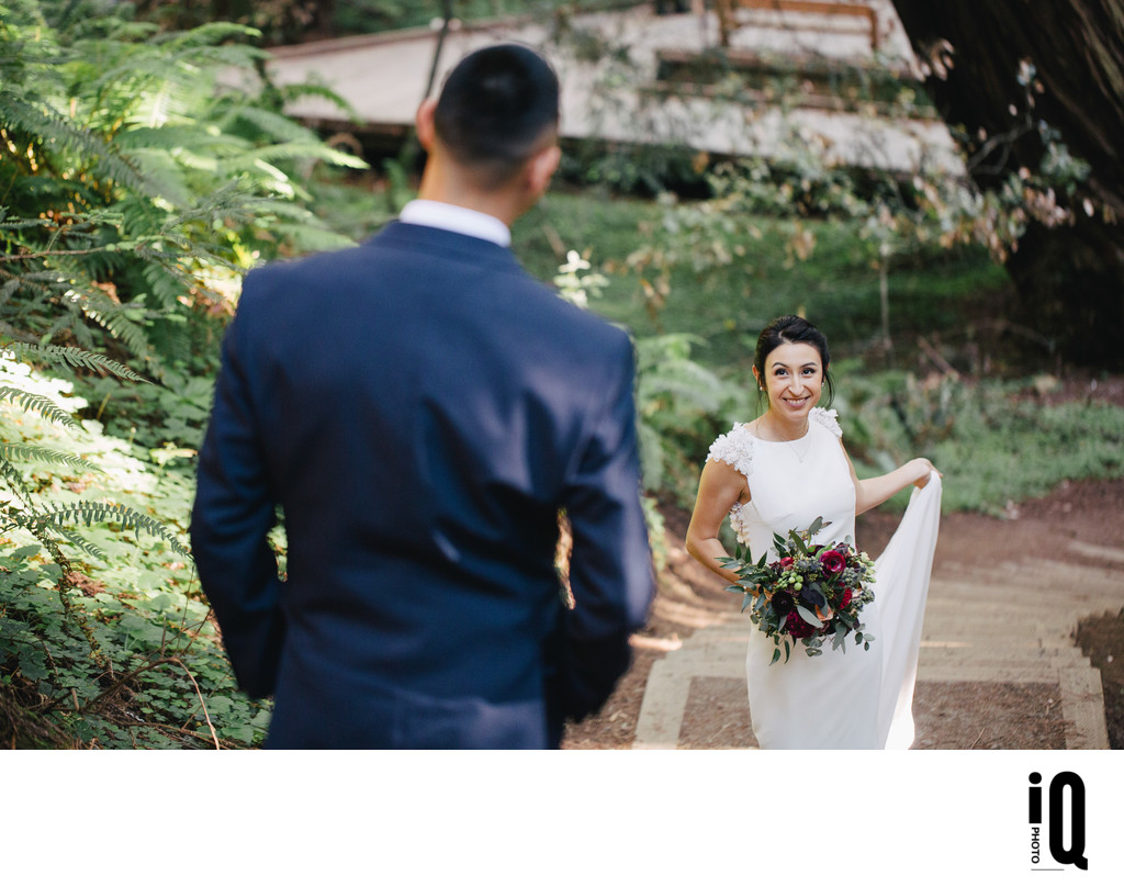 Bridal Portrait at Muir Woods