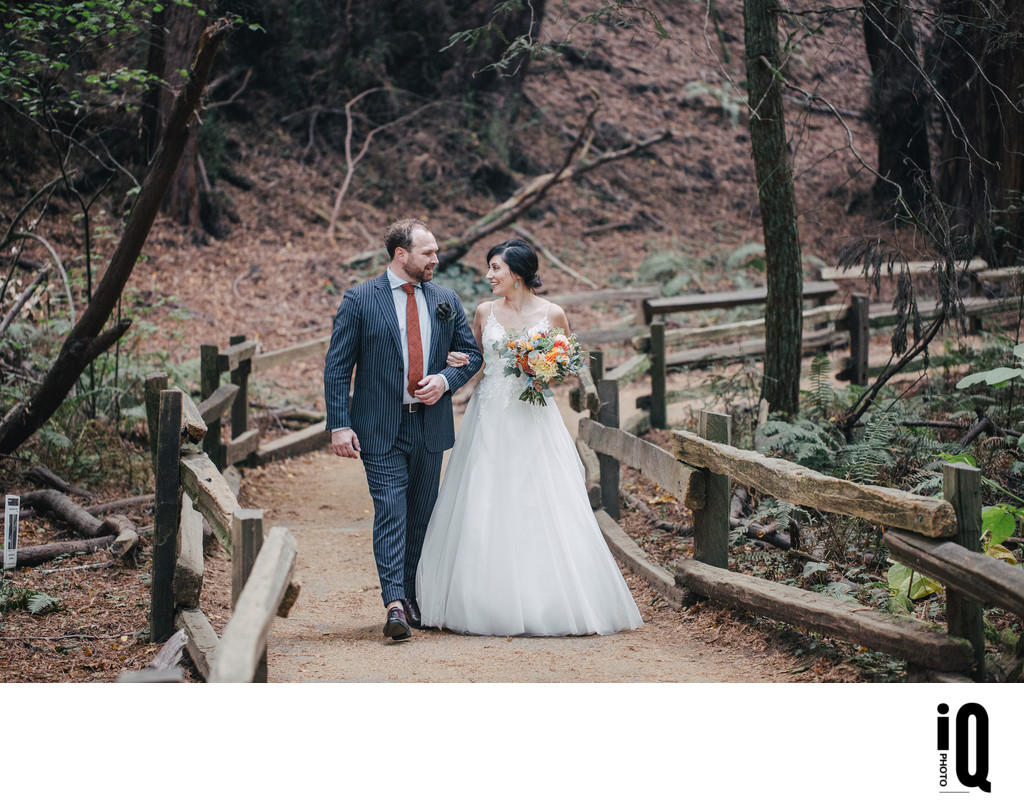 Post Ceremony at Muir Woods
