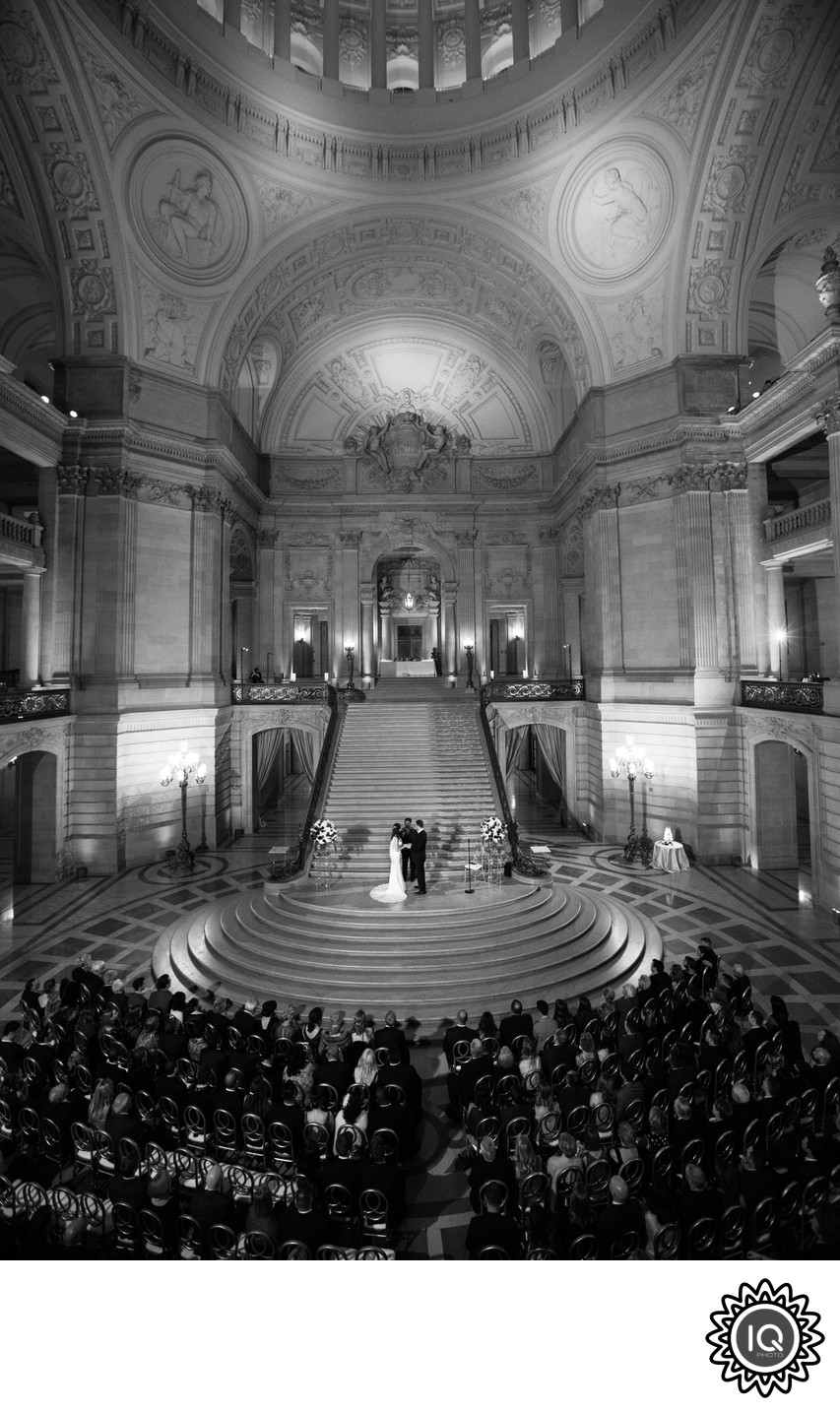 Weekend Ceremony at SF city Hall