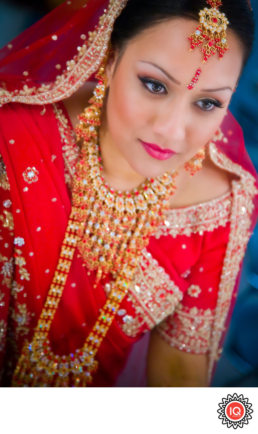 Formal Portrait of Indian Bride