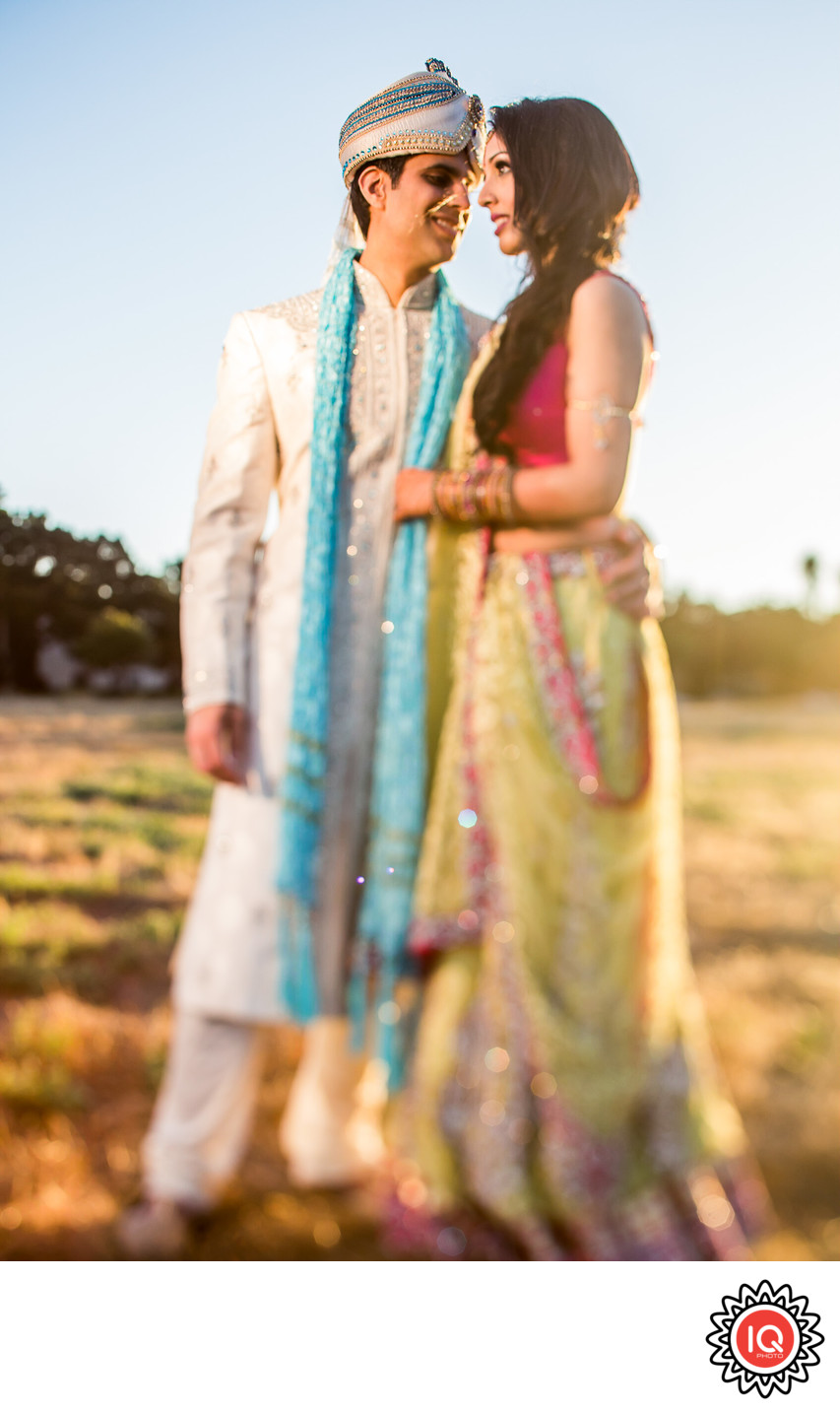 Full Lenght Portrait of an Indian Couple