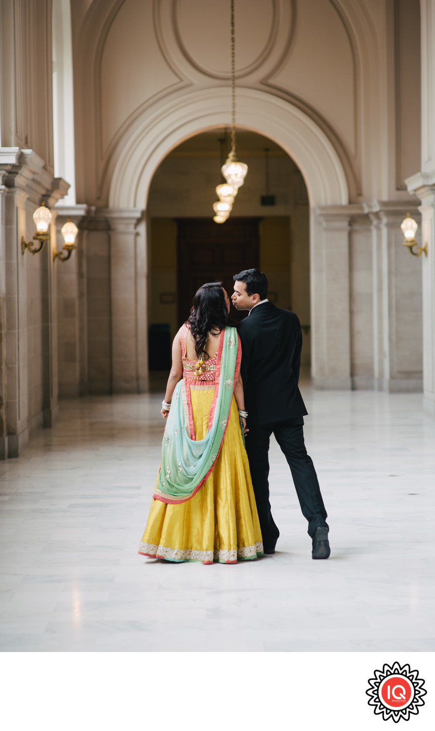 Indian Couple in SF City Hall