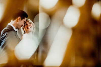 San Francisco City Hall Wedding Photography - Golden Light at SF City Hall