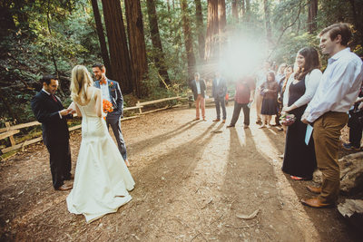Muir Woods Ceremony 2