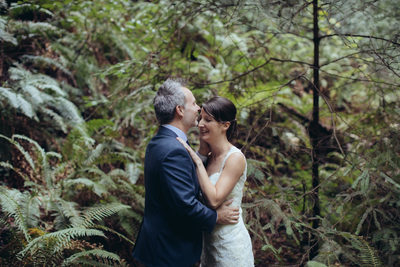 Romantic Couple at Muir Woods