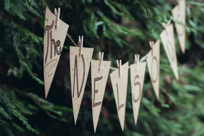 Wedding Decorations at Muir Woods 2