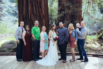 Group Portrait at Muir Woods