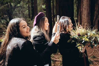 Muir Woods Bridesmaids