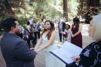Muir Woods Ceremony 3