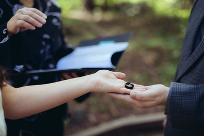 Ring Exchange at Muir Woods