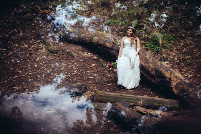 Muir Woods Bridal Portrait 2