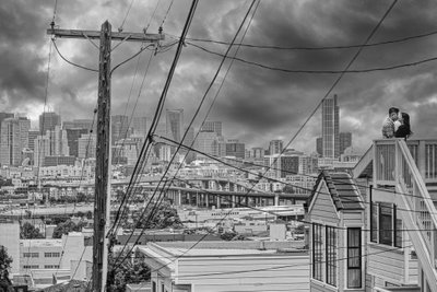 Potrero Hill Dramatic Sky