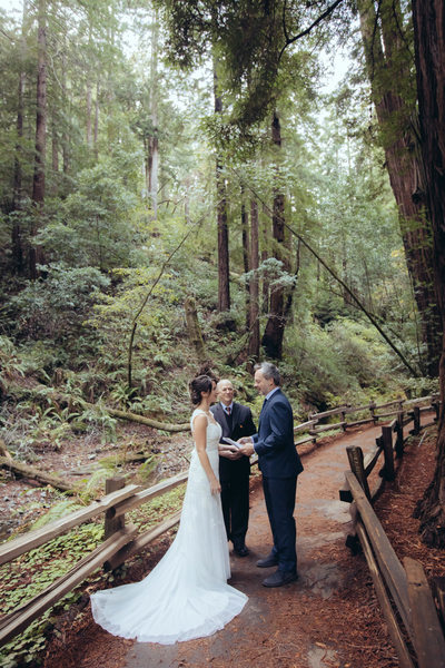 Intimate Ceremony at Muir Woods