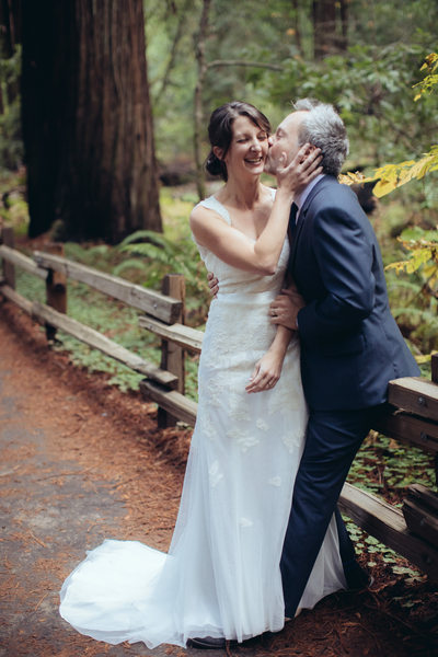 Passionate Kiss at Muir Woods
