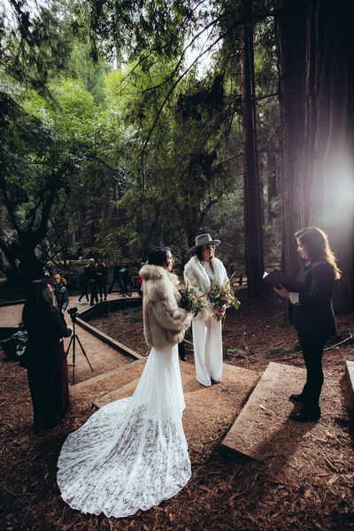 Same Sex Wedding at Muir Woods