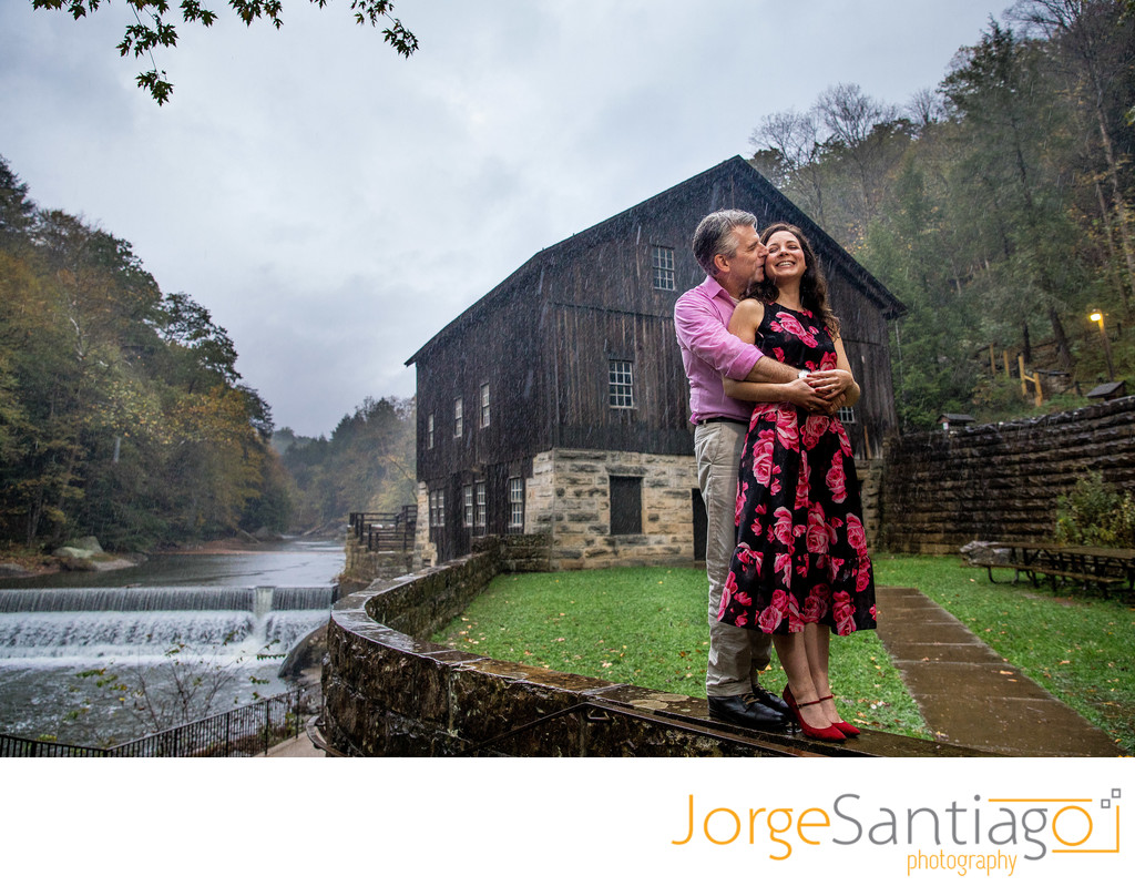 Mcconnells Mill Engagement Session Photos