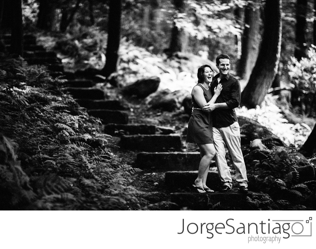 Cook Forest PA Engagement Session Photos