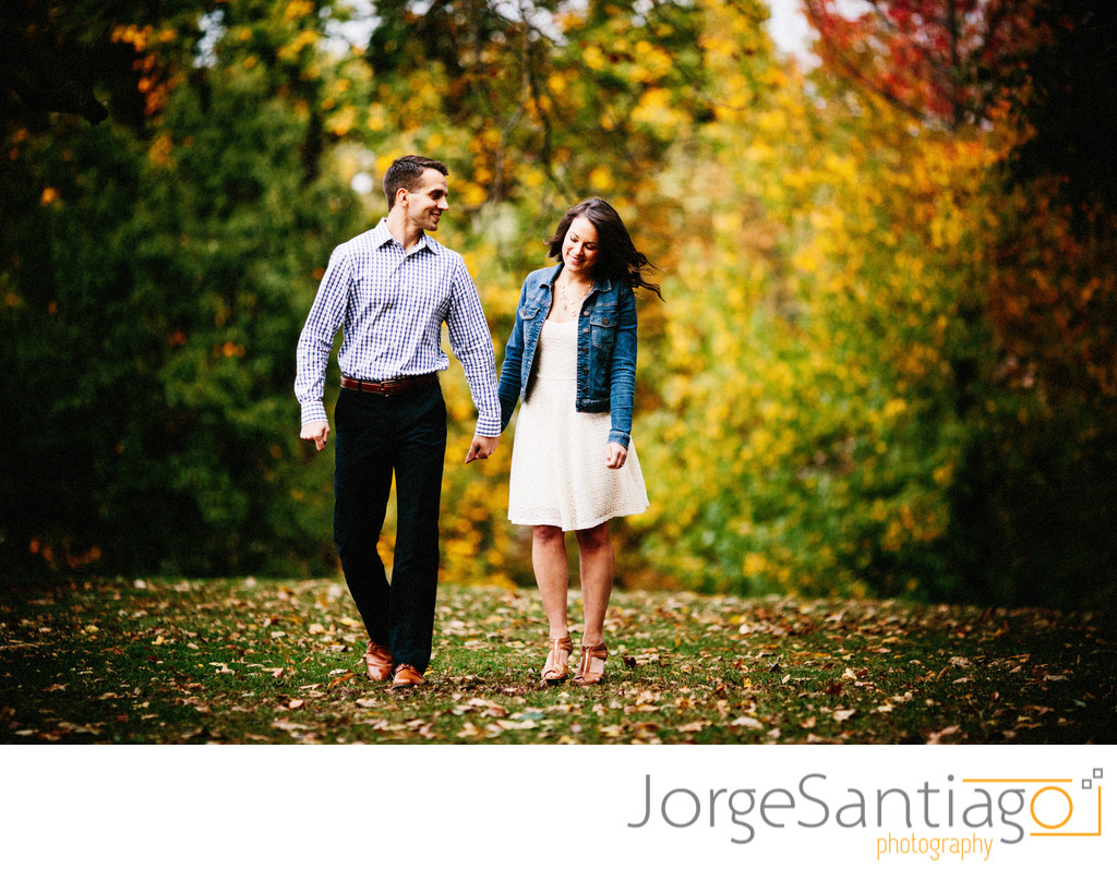 Pittsburgh Fall Engagement Session Photos