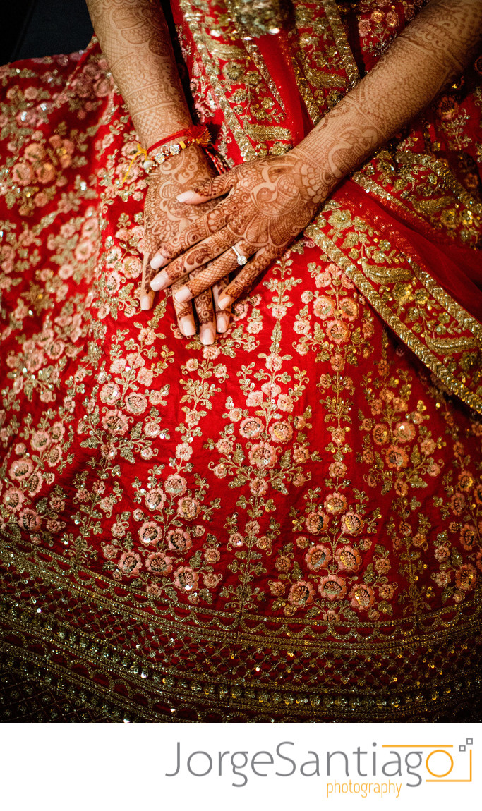 Indian Wedding Bride's fashion