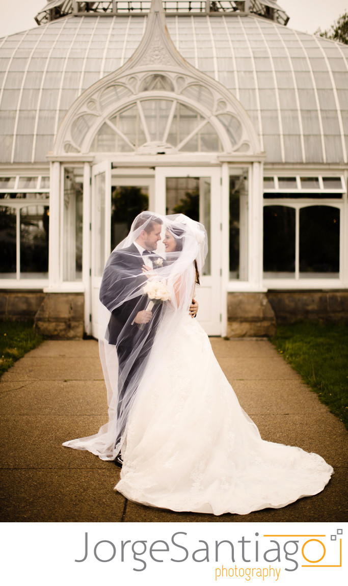 Phipps Conservatory Classic Wedding Photos