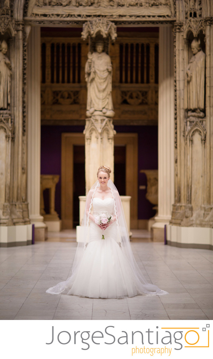 Wedding Photos at the Hall of Architecture in Pittsburgh