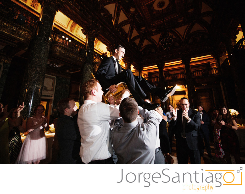 Hora Dance at the Carnegie Museum in Pittsburgh Weddings