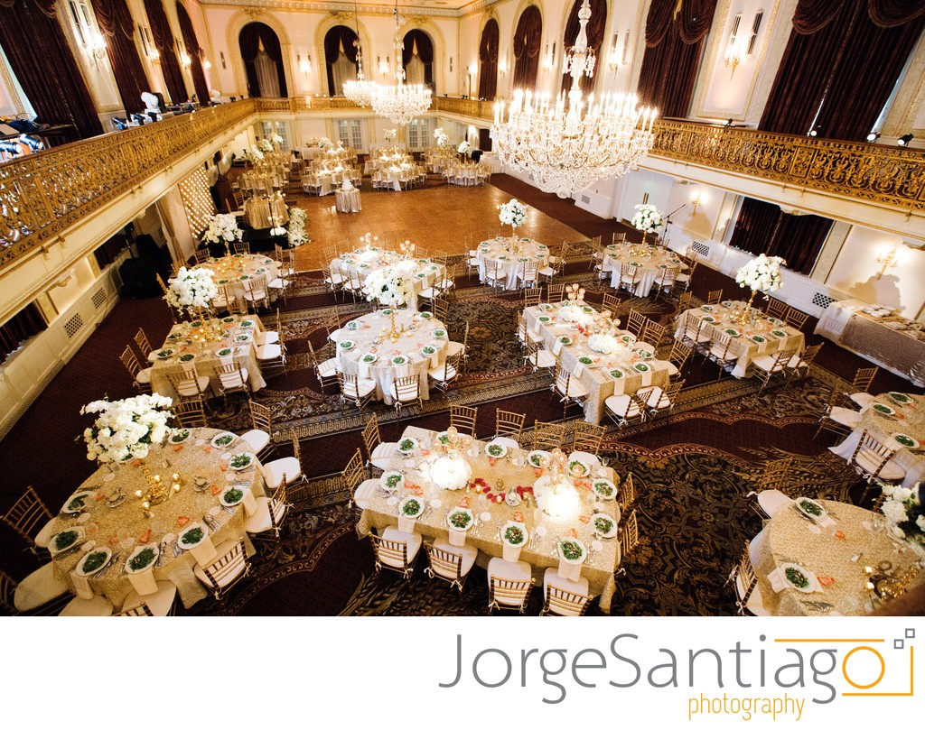 Omni William Penn Ballroom Decor Ideas