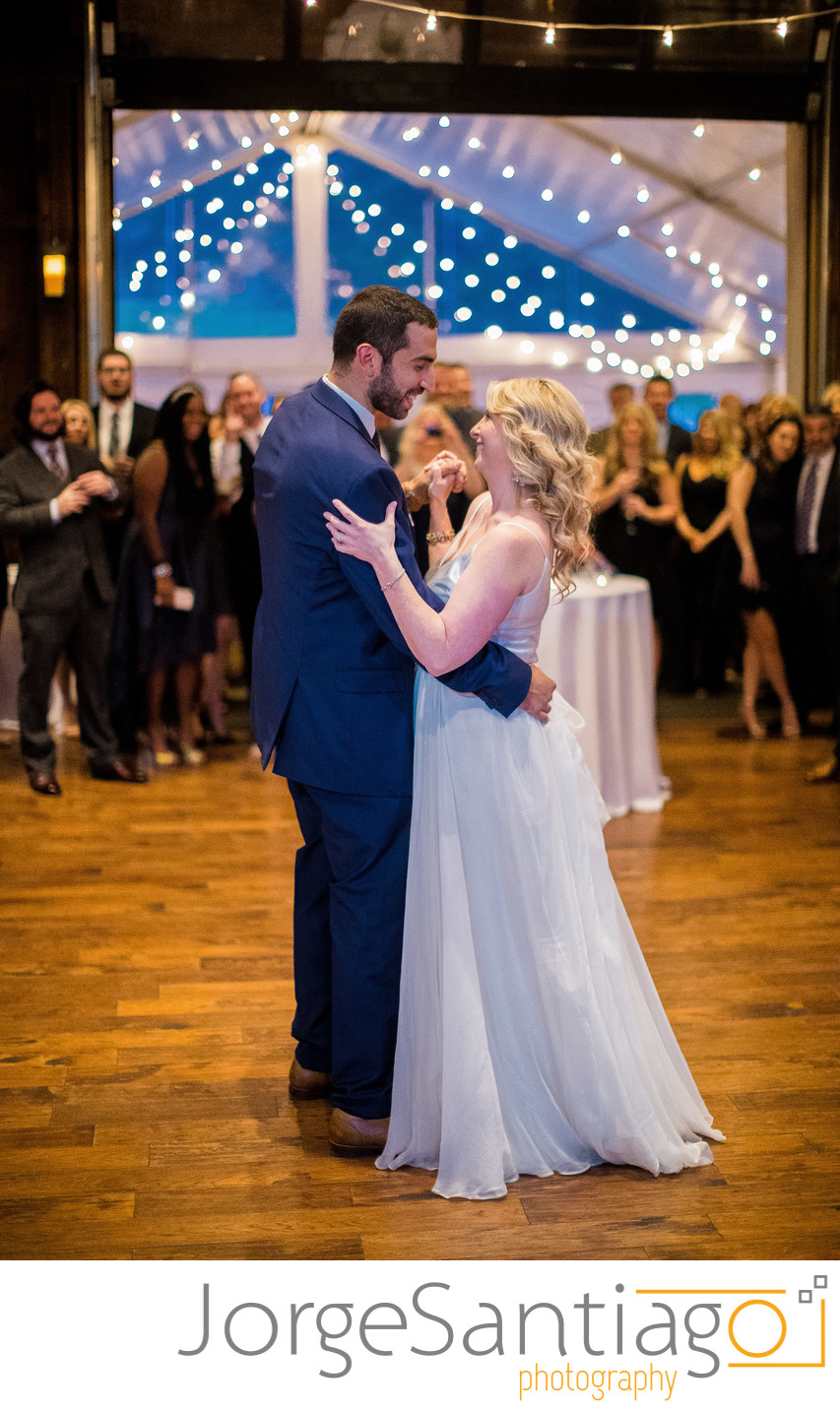 Pittsburgh Botanic Garden Wedding Photos - First Dance