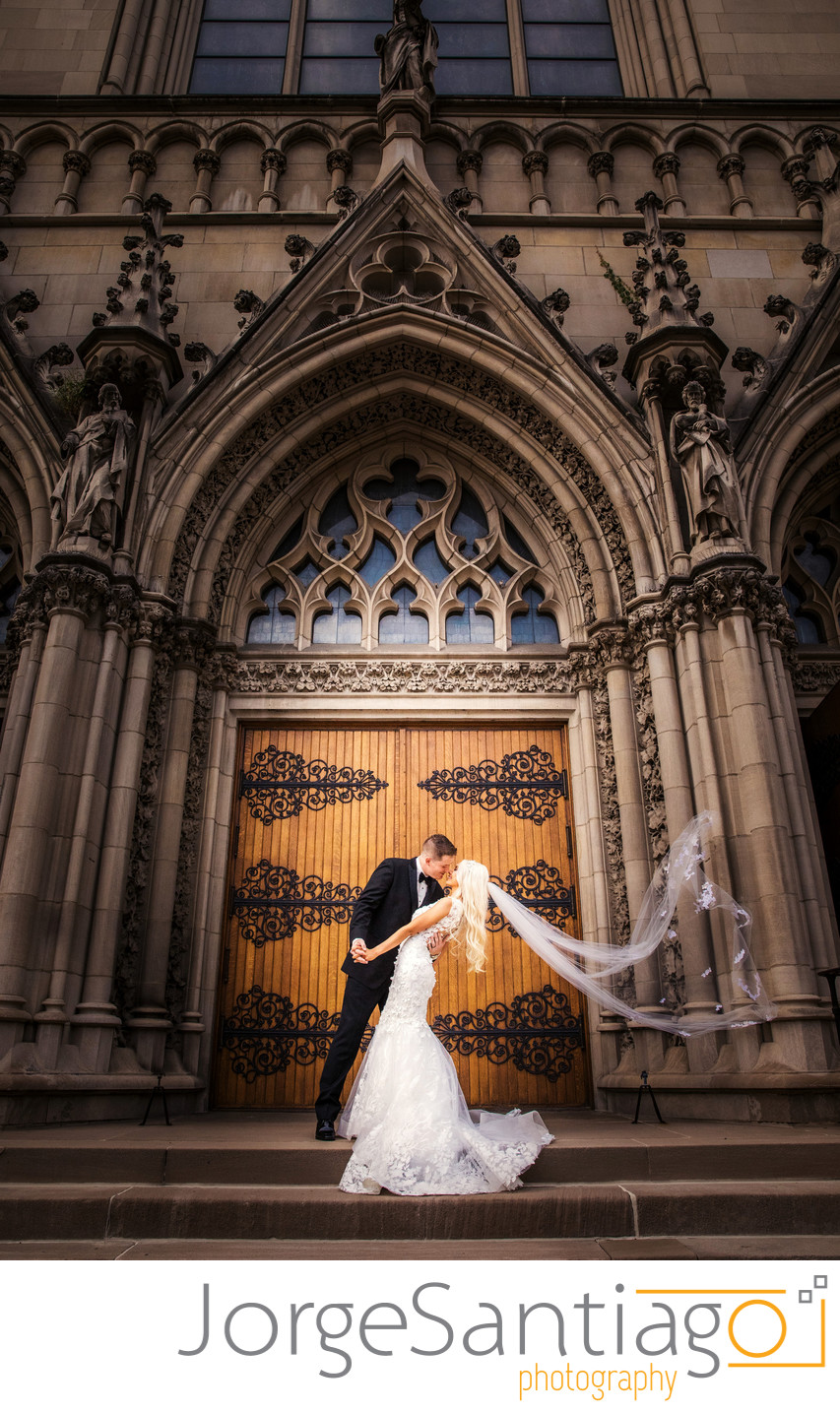 St. Paul's Cathedral wedding in Pittsburgh - Michelle & Paul