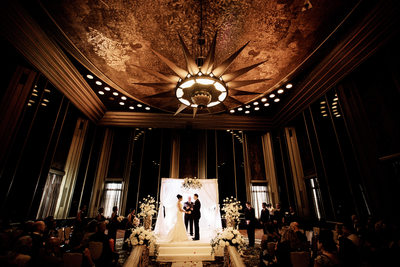 Omni William Penn Hotel Wedding Photos