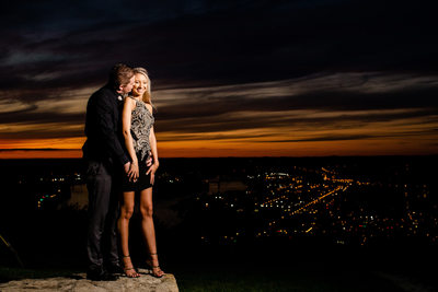 Pittsburgh Engagement Photos Sunset