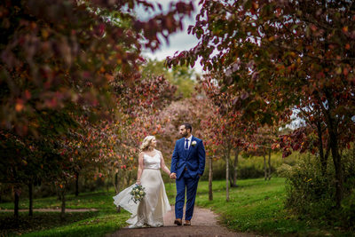 Pittsburgh Botanic Garden Wedding Pictures
