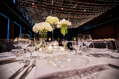 Pittsburgh Opera Wedding Photos -Reception Decor