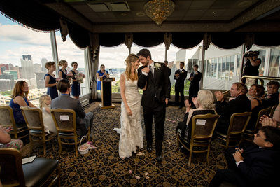 LeMont Wedding Ceremony Photos
