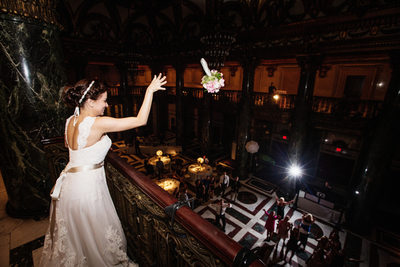 Carnegie Music Hall Foyer Wedding Photos