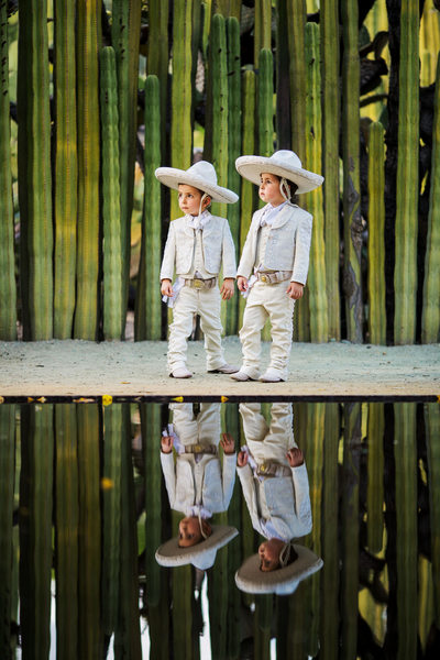 Traditional Charro outfit for kids