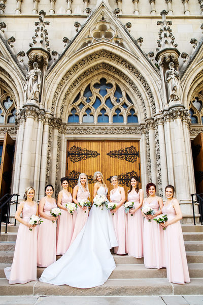 St. Paul Cathedral, Pittsburgh, PA Wedding Photos